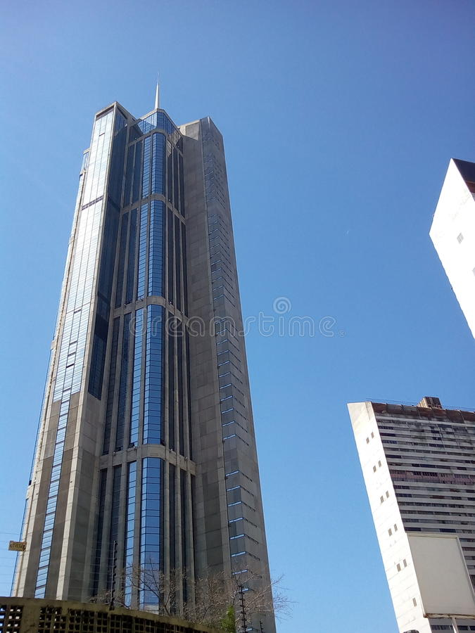 Central Park complex towers Caracas Venezuela royalty free stock photography