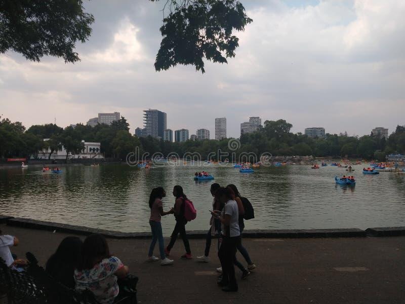 Central Park de Mexico photos stock