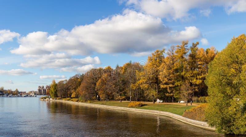 Central Park de Sankt-Peterburg fotografia de stock royalty free