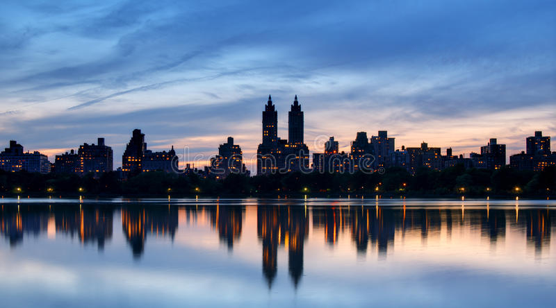 Central Park del oeste fotografía de archivo