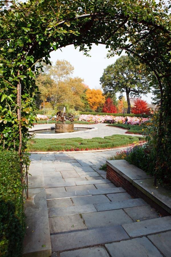 Central Park Garden royalty free stock photos