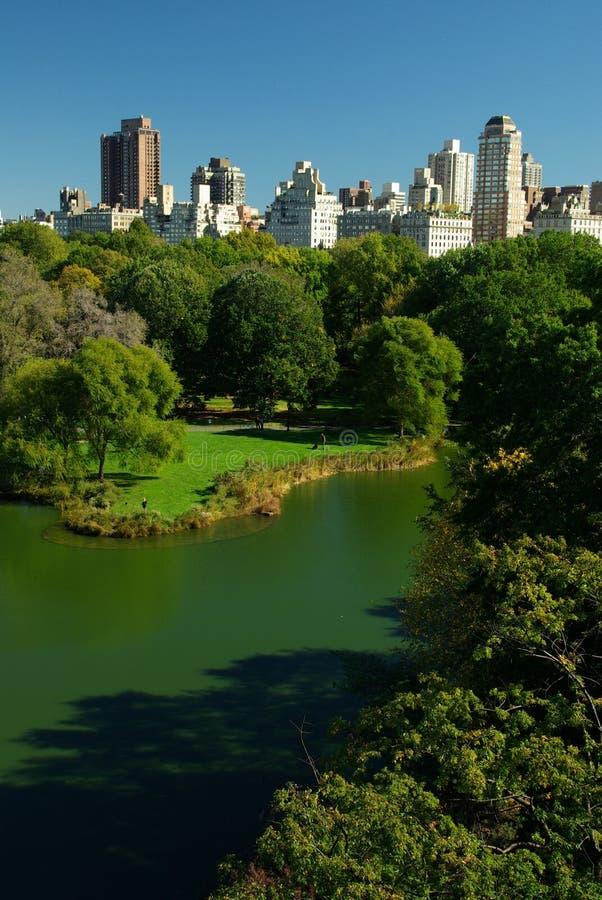 Central Park Lake royalty free stock photo