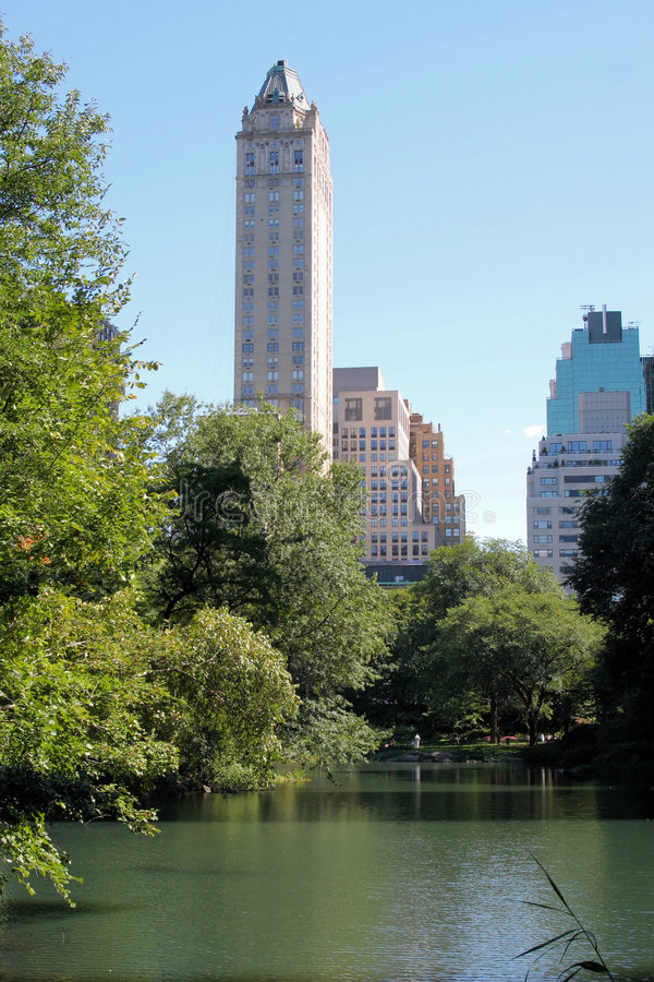 Download Central Park And Manhattan Skyline Stock Photo - Image: 1720890