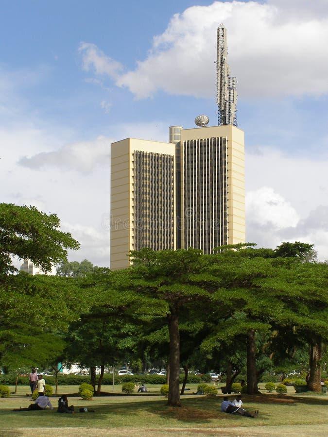 Central Park, Nairobi stockfotos