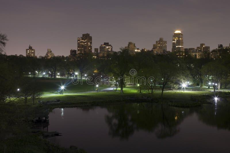 Central Park New York royalty-vrije stock afbeelding
