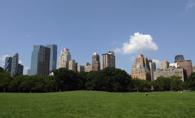 Central Park - New York lizenzfreie stockbilder
