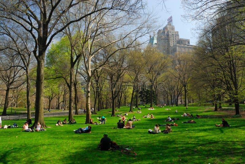Central Park, New York imagem de stock