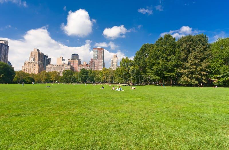 Central Park in New York stockfoto