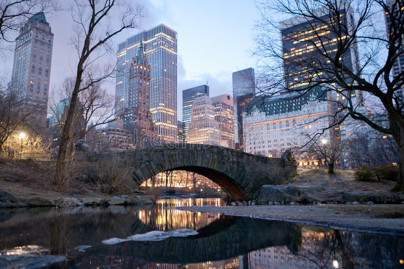 Central Park, New York stock afbeelding