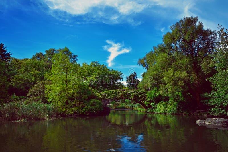 Central Park New York fotografia stock