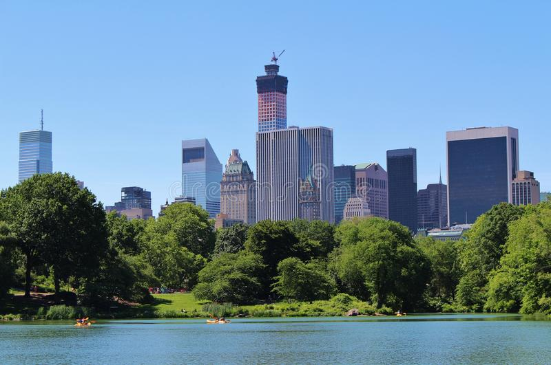Download Central Park, New York stock afbeelding. Afbeelding bestaande uit groen - 54080407