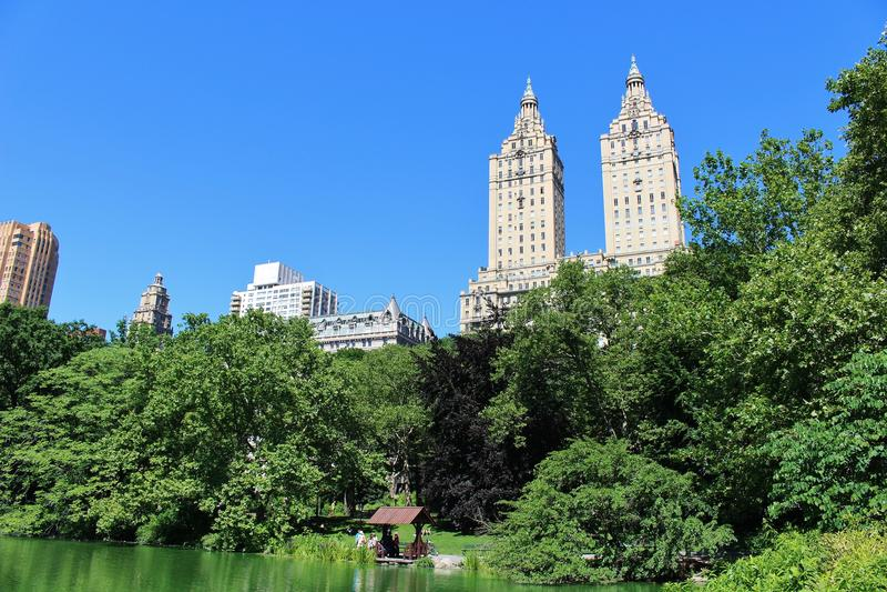 Download Central Park, New York stock afbeelding. Afbeelding bestaande uit meer - 54080895