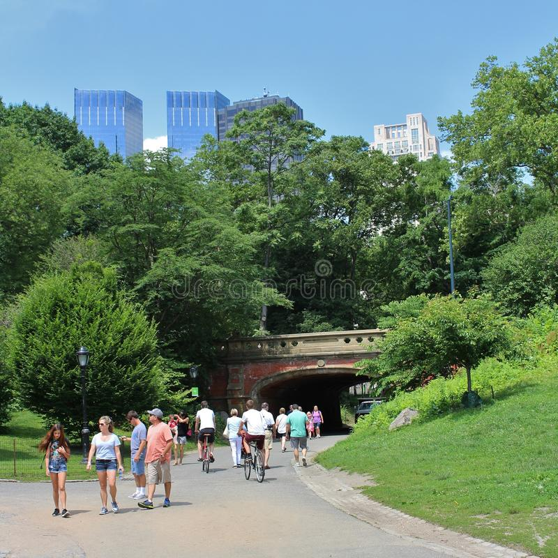 Download Central Park, New York redactionele stock afbeelding. Afbeelding bestaande uit prachtig - 54083149