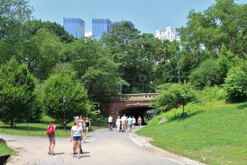Download Central Park, New York redactionele foto. Afbeelding bestaande uit manhattan - 54083266