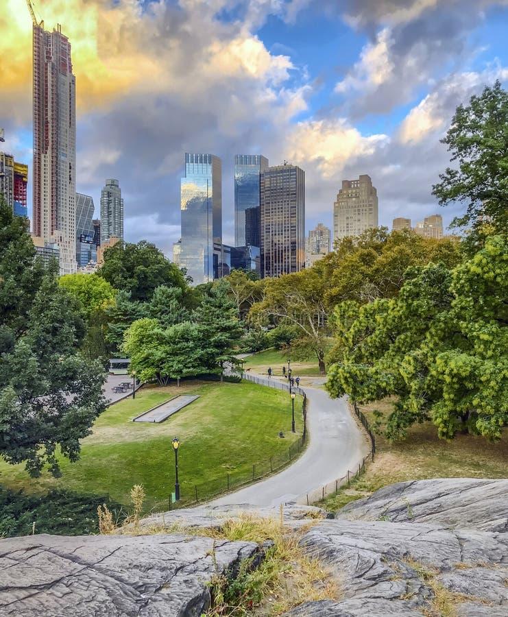 Central Park, New York City fotografia stock libera da diritti