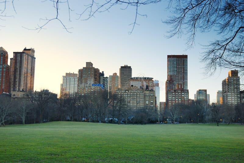 Central Park, New York City stockfotos