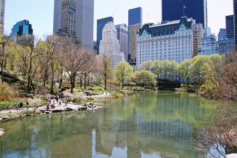Central Park, New York City fotografia de stock