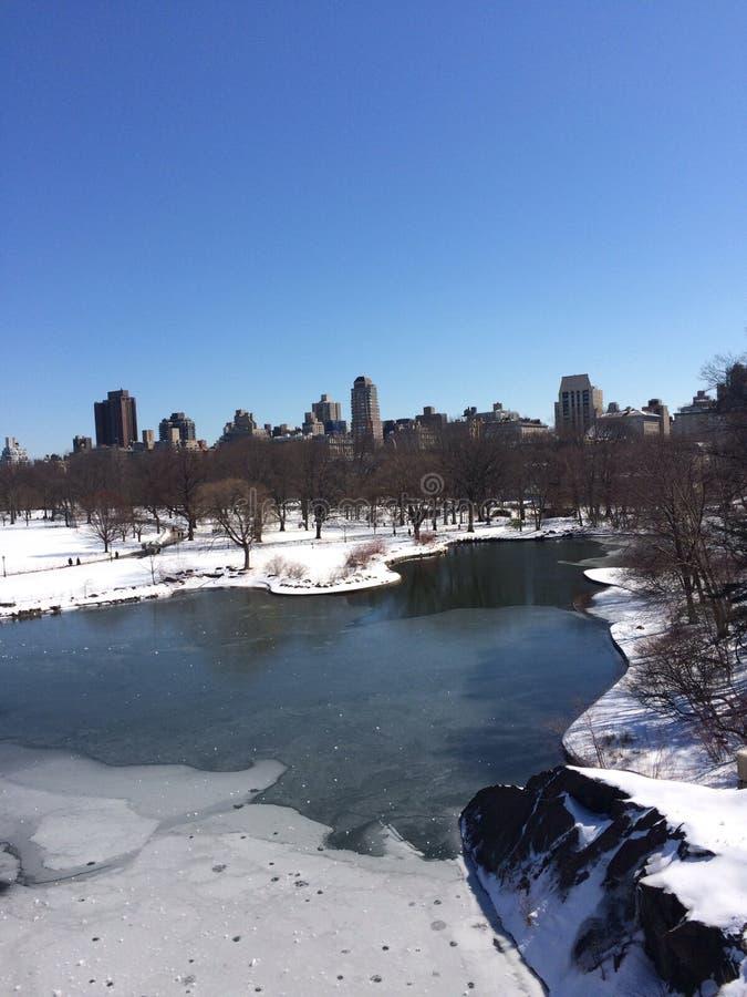 Central Park New York City fotografía de archivo