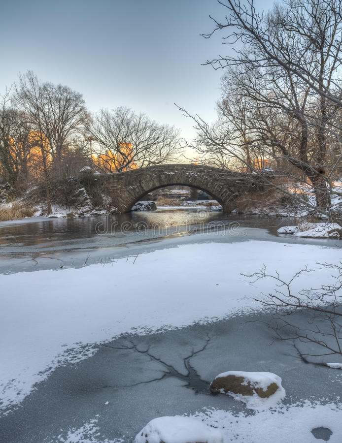 Download Central Park, New York City Stock Photo - Image of york, cold: 29761834