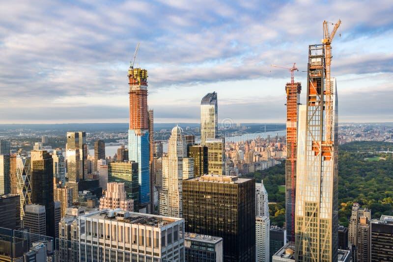 Central Park in New York City stockbilder