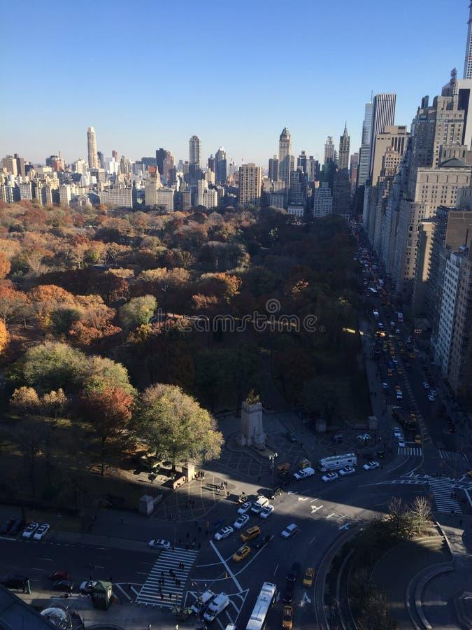 Central Park no outono, New York City imagem de stock royalty free