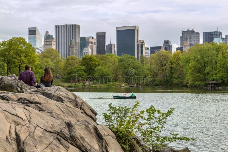 Central Park Nueva York fotos de archivo