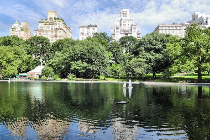 Central Park NY imagem de stock
