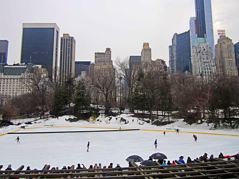 Central Park NY image stock