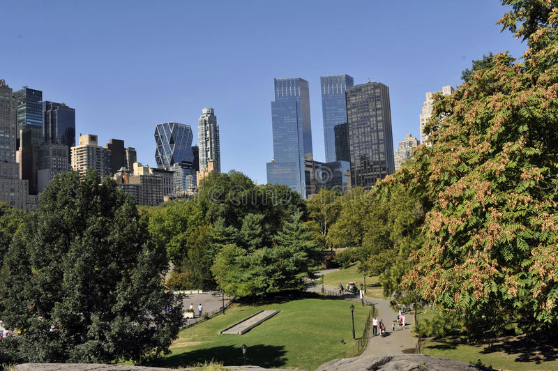 Central Park in NYC (9) stock image
