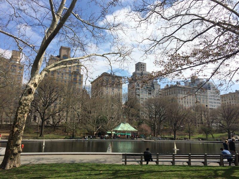Central Park, piękny zdjęcie stock
