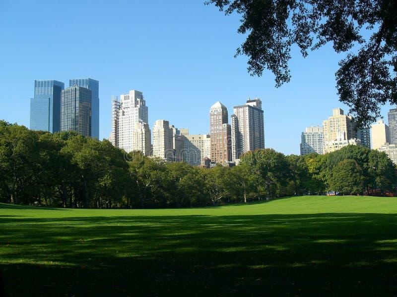 Central park scene, New York, USA royalty free stock image