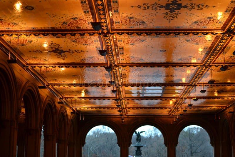 Central Park-Tunnel stockbild