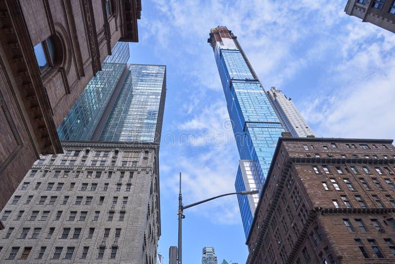 Central Parktoren op 57ste Straat in NYC -2 royalty-vrije stock fotografie