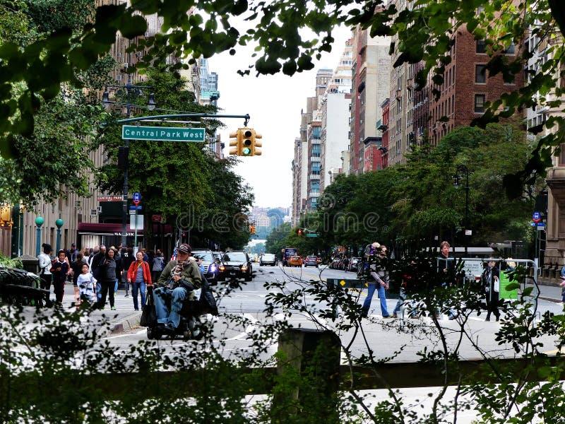 Central Parkwestside royalty-vrije stock fotografie
