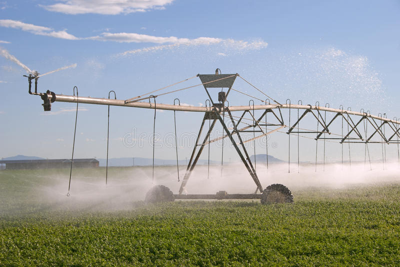 Download Central Pivot stock image. Image of pipe, irrigated, agricultural - 39501561