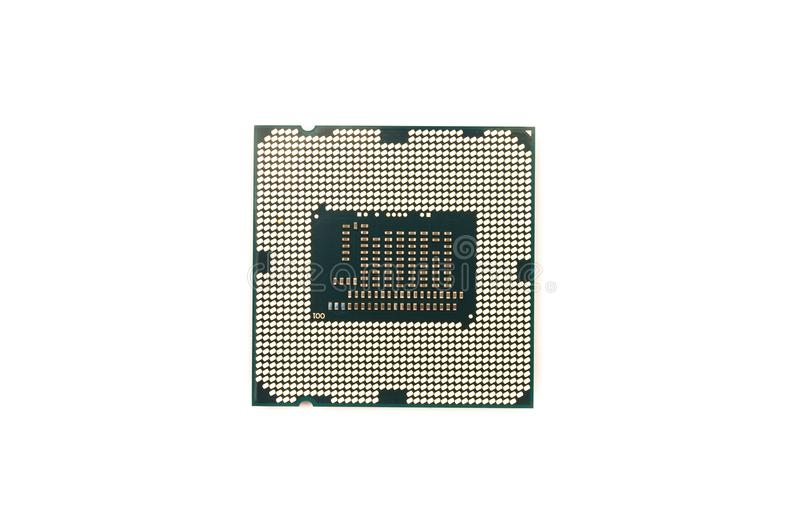 Central processing unit. Processor chip, cpu central processing unit isolated stock photos