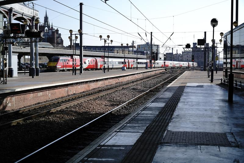 Central Railway Station Newcastle upon Tyne royalty free stock photography