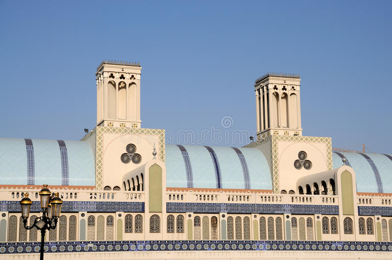 central sharjah souq arkivbilder