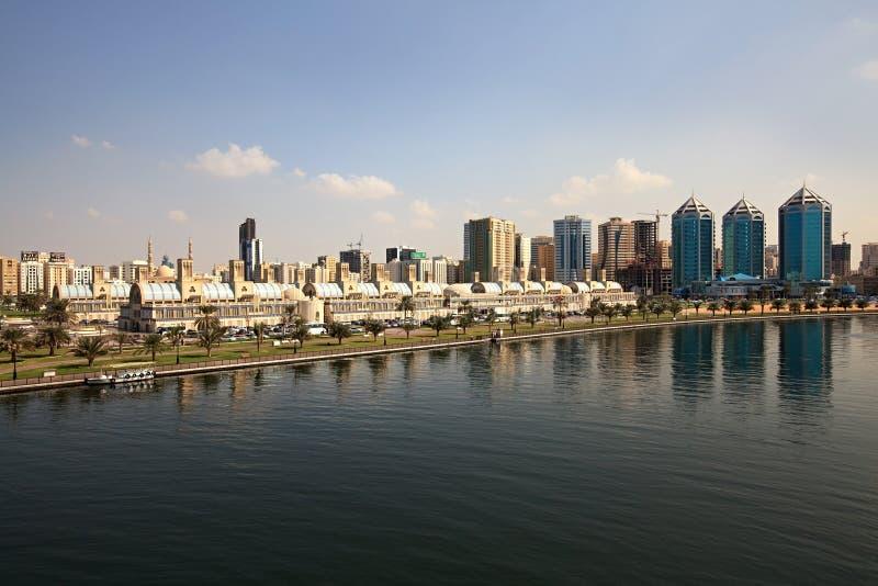Central Souq de Sharja. imagenes de archivo