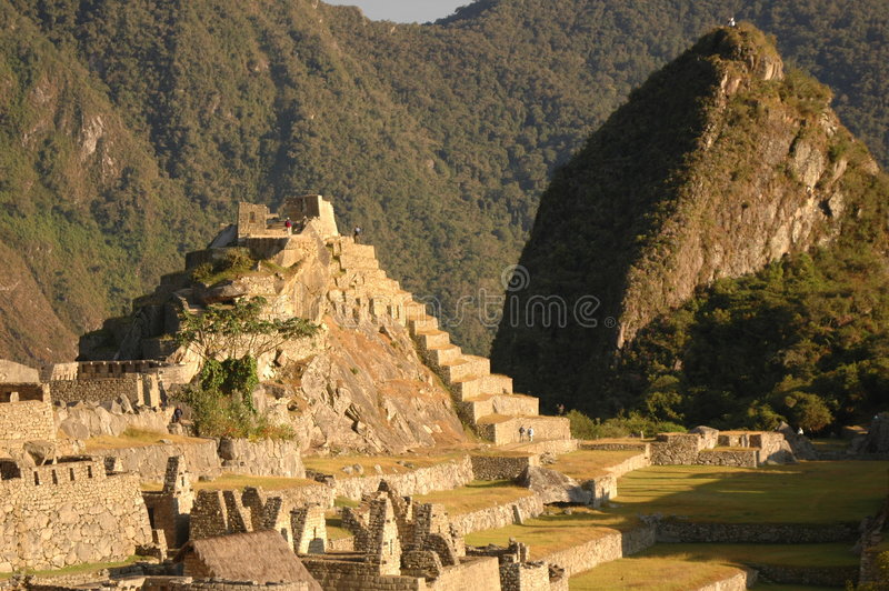 Download Central Square From Machu Picchu Stock Photography - Image: 196932