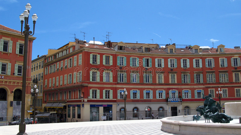 Download Central Square In Nice, France Stock Photo - Image: 2535648