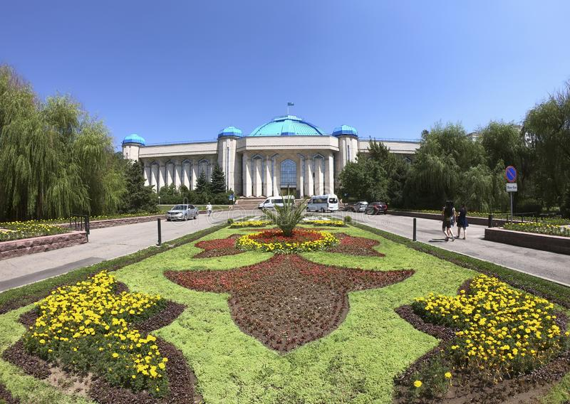 Central State Museum of Kazakhstan stock photography