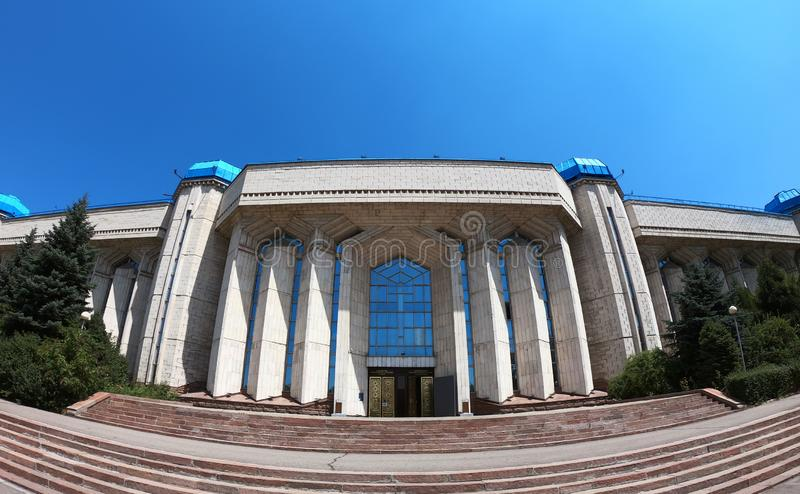 Central State Museum of Kazakhstan stock photos