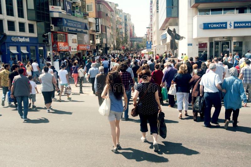 Central Street In Izmir Editorial Stock Image