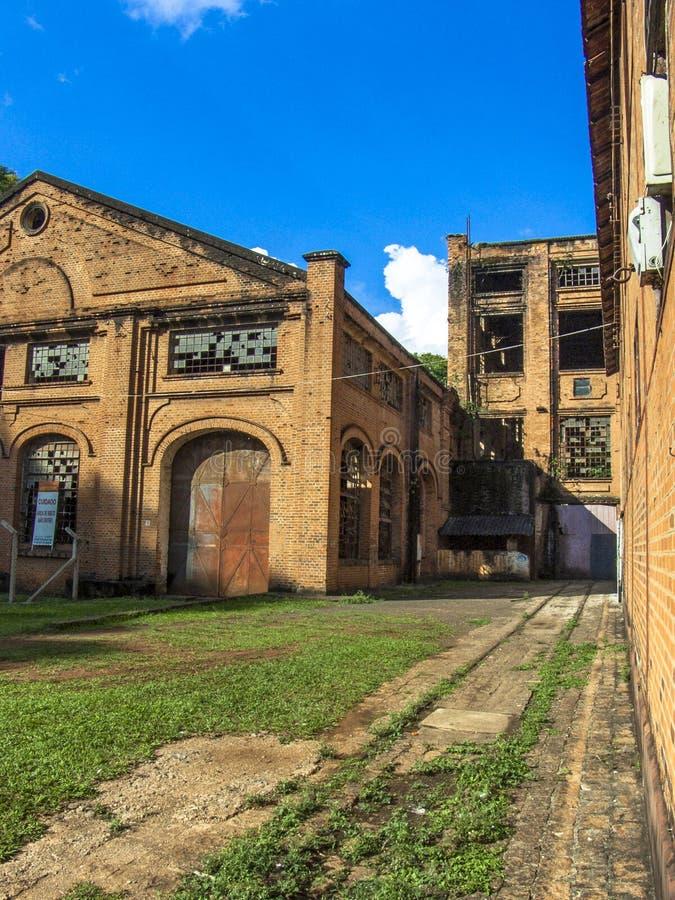 Central Sugar Mill de Piracicaba fotografía de archivo libre de regalías