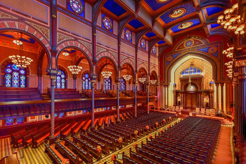 Central Synagogue - New York City royalty free stock image
