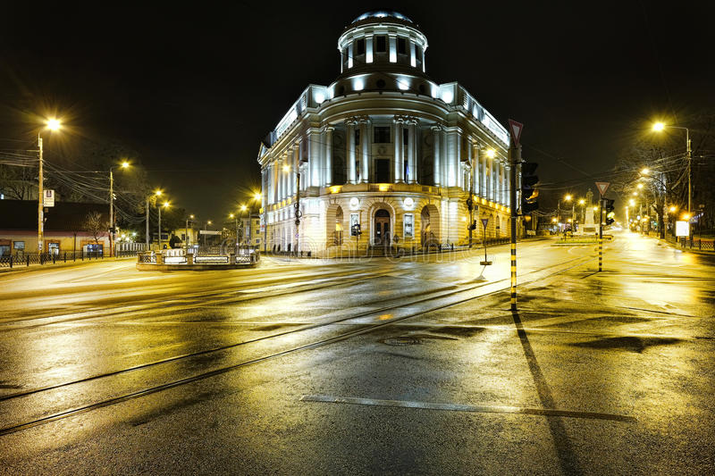 """University library architecture building. The """"Mihai Eminescu"""" Central University Library is one of the oldest and the largest library in Romania. It"""