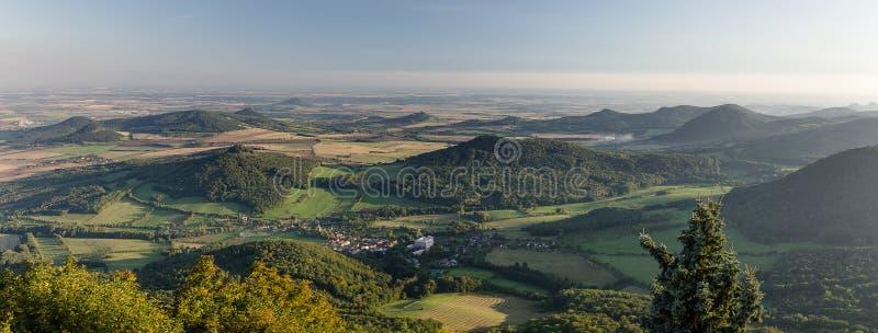 Centrala bohemiska högländer, Tjeckien royaltyfria bilder
