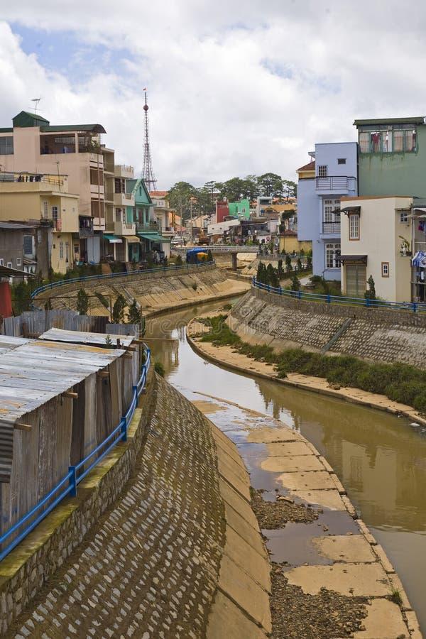 centrala dalathögland vietnam arkivfoto