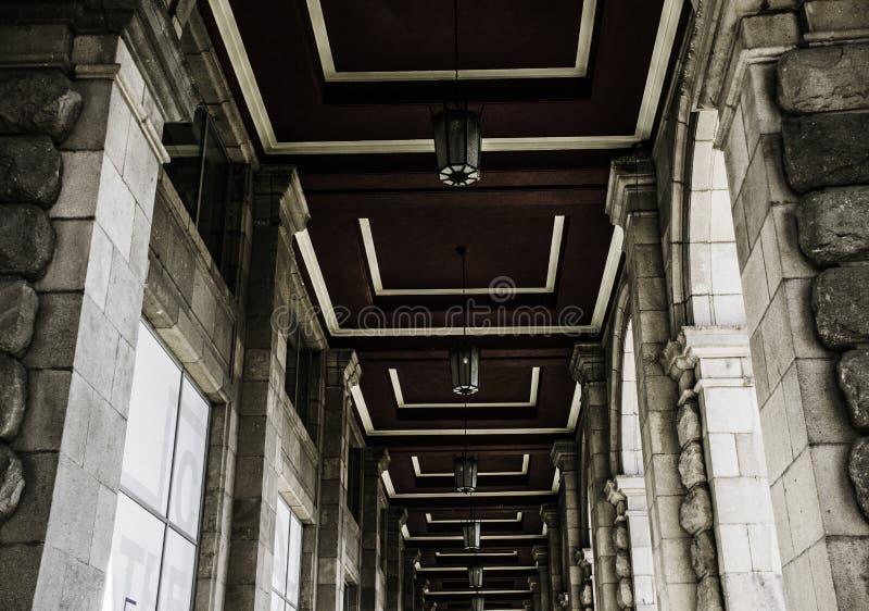 Centrala Hali i Sofia, köpcentrum arkivbild